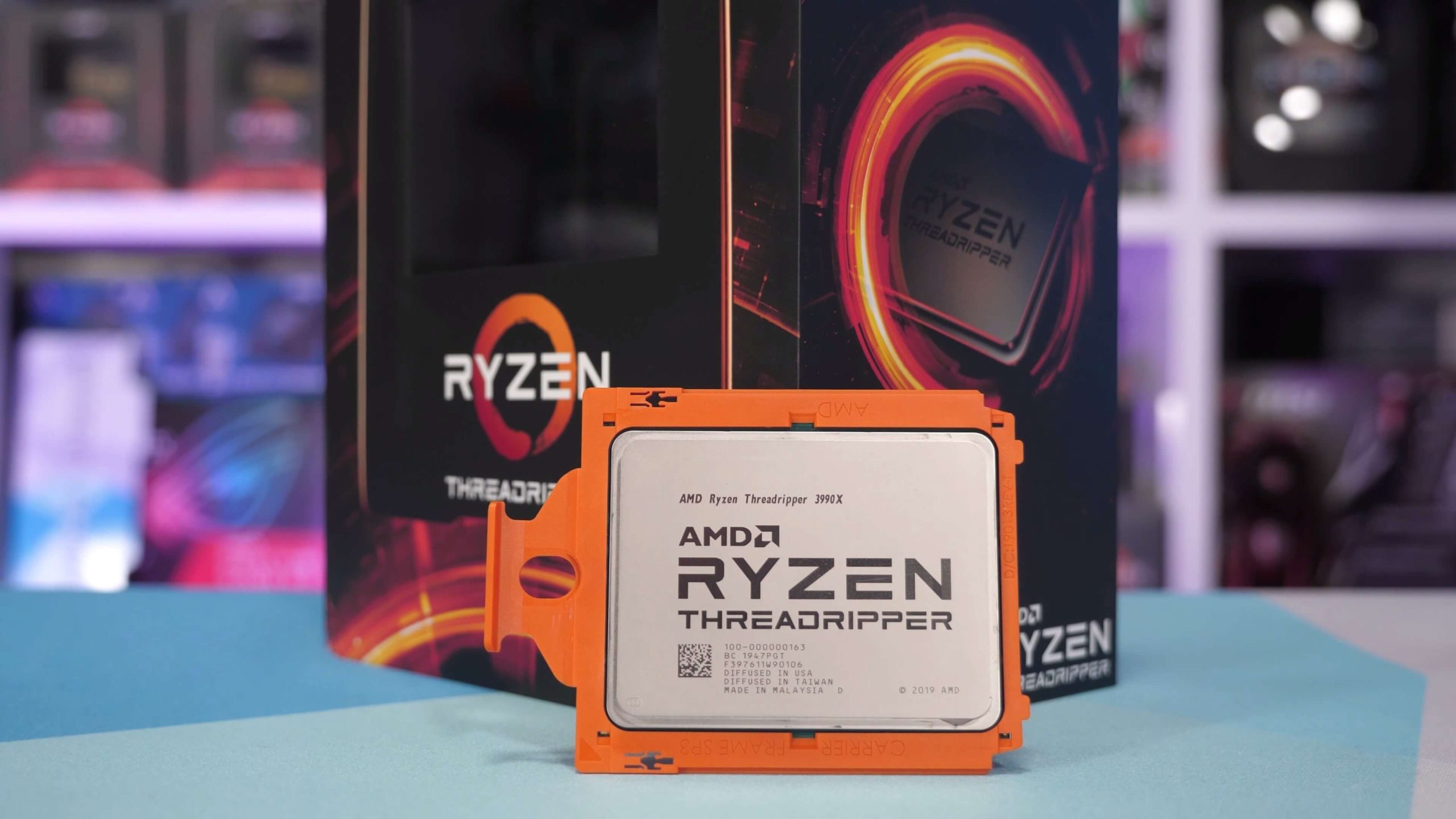 AMD Ryzen Threadripper 3990X overclock