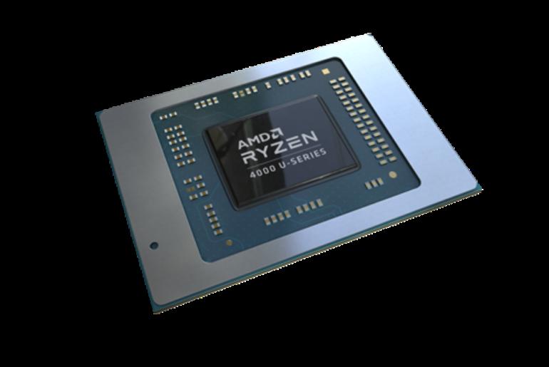 AMD Ryzen 4800U 4000 mobile processor