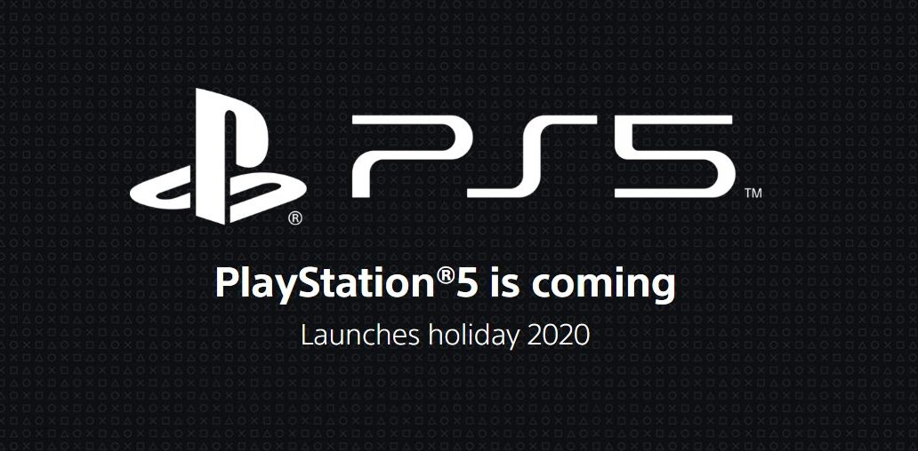 SONY PlayStation 5 official site page logo